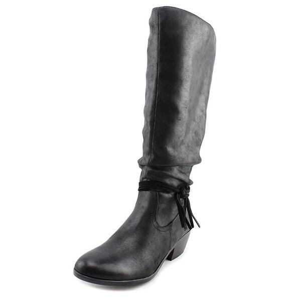Kim Rogers Perri Wide Calf Women Black Boots