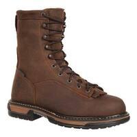 Rocky Men's IronClad Steel Toe Waterproof Work Boot 6698 Brown