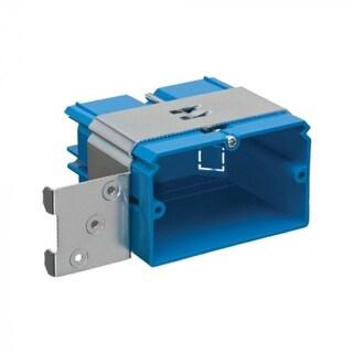 Thomas & Betts B121ADJH Horizontal Adjust-A-Box, Single Gang