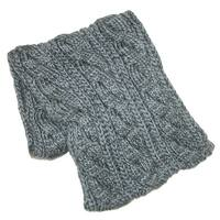 CTM® Women's Basic Cable Knit Winter Loop Scarf - One size