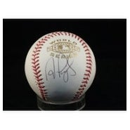 Signed Pujols Albert 2006 World Series Ball Below The Logo autographed