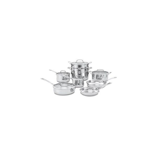 13 Pc Contour Stainless Cookware Set 13 Pc Contour Stainless Cookware Set