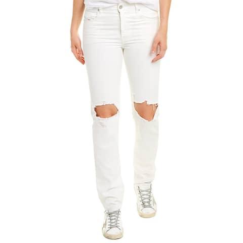 Diesel Neekhol White Straight Leg