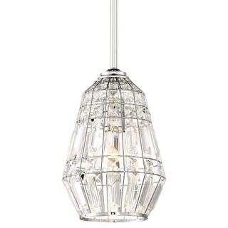 "Minka Lavery 2341-77 Braiden Single Light 7"" Wide Crystal Mini Pendant"