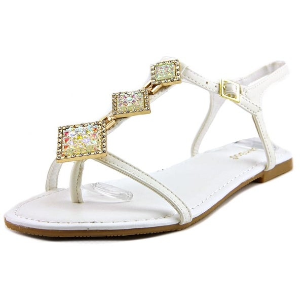 Bamboo Nadya-39 Women Open-Toe Synthetic Slingback Sandal