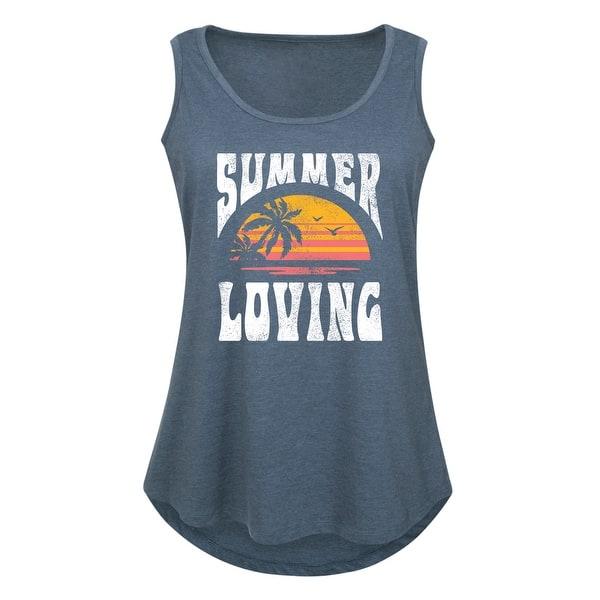 Women Summer Plus Size Tank Top