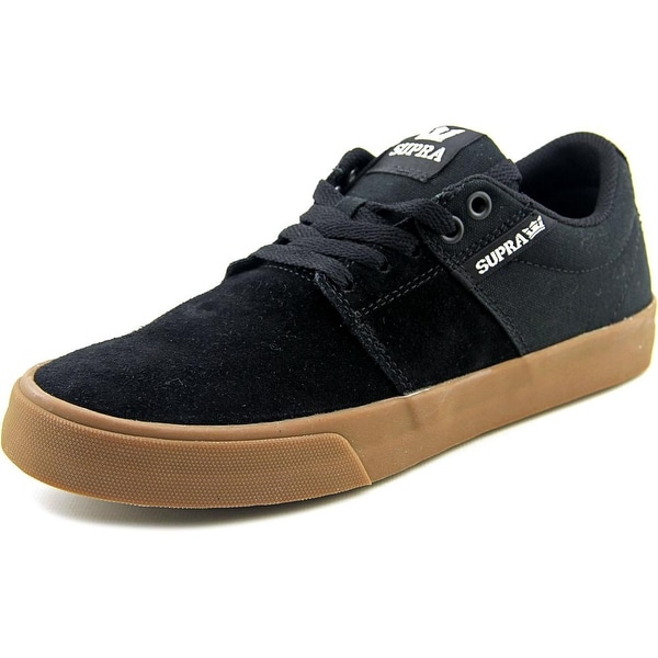 Supra Stacks Vulc II Men Round Toe Suede Skate Shoe