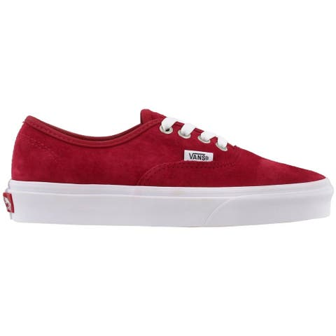 Vans C&D Authentic Lace Up Womens Sneakers Shoes Casual - Red