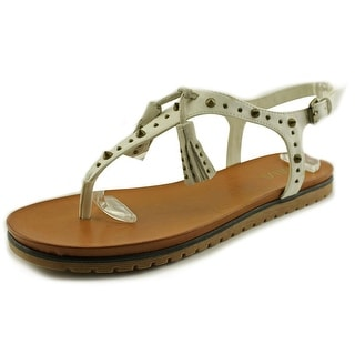 Mia Yelena Women Open Toe Synthetic Thong Sandal
