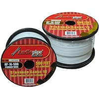 Audiopipe 16 Gauge 500Ft Primary Wire White