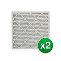16x25x4 Air Filter Replacement for AC & Furnace MERV 11 - 2 Pack