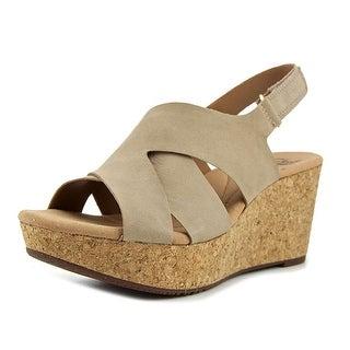 Clarks Annadel Fareda Women  Open Toe Leather  Wedge Sandal