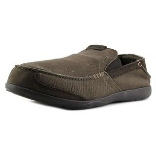 Crocs Walu Moc Toe Canvas Loafer