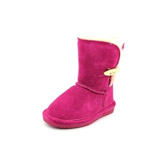 Bearpaw Abigail Toddler Round Toe Suede Winter Boot