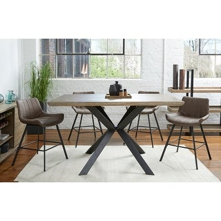 Link to Rye Studio Roma Grey Washed Counter Dining Table Similar Items in Dining Room & Bar Furniture