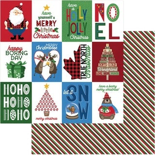 "O Canada Christmas Double-Sided Cardstock 12""X12""-Merry Christmoose"