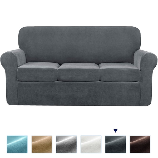 Subrtex Sofa Cover Stretch Slipcover with Separate Cushion Covers. Opens flyout.