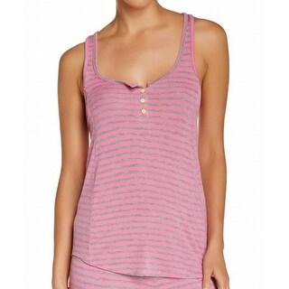 Honeydew NEW Pink Women's Size XL Striped Racerback Sleepshirt Sleepwear