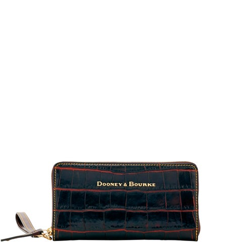 Dooney & Bourke Savanah Large Zip Around Wristlet Wallet (Introduced by Dooney & Bourke at $168 in Oct 2017)