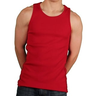 Akademiks Men's 'Rebel' Ribbed Tank Top