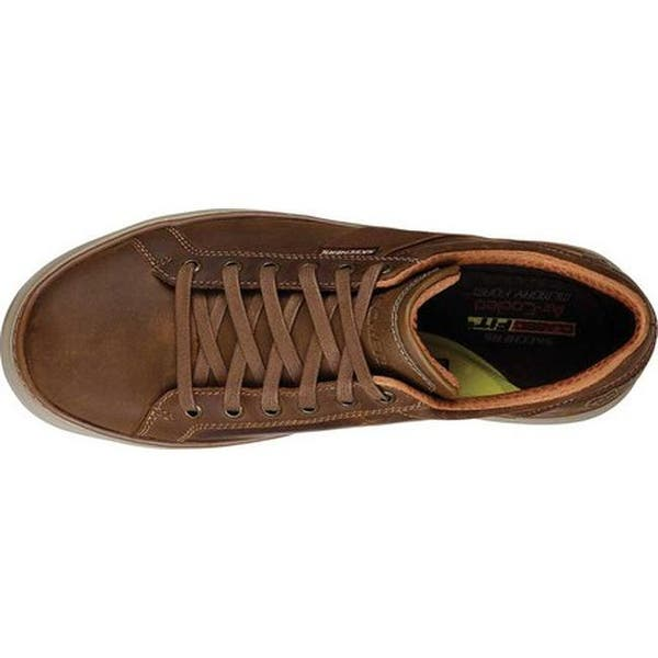 Pisoteando judío Glosario  Shop Skechers Men's Moreno Winsor Oxford Dark Brown - On Sale ...