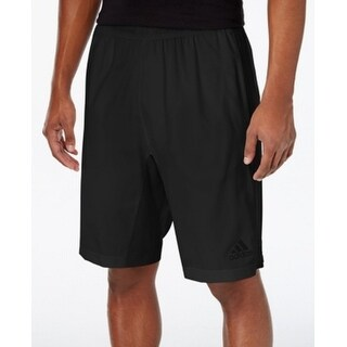 Adidas NEW Black Mens Size Large L Drawstring Training Athletic Shorts