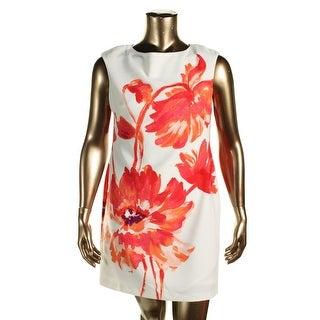 Lauren Ralph Lauren Womens Wear to Work Dress Crepe Floral Print - 16p