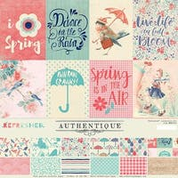 """Authentique Collection Kit 12""""X12""""-Refreshed"""