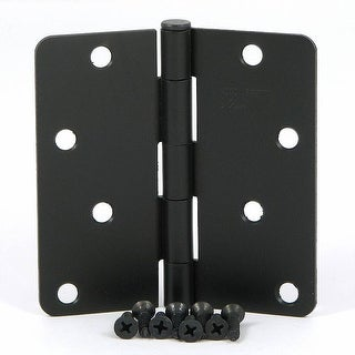 Stone Mill Hardware - Oil Rubbed Bronze 4-inch Door Hinges (Set of 2)