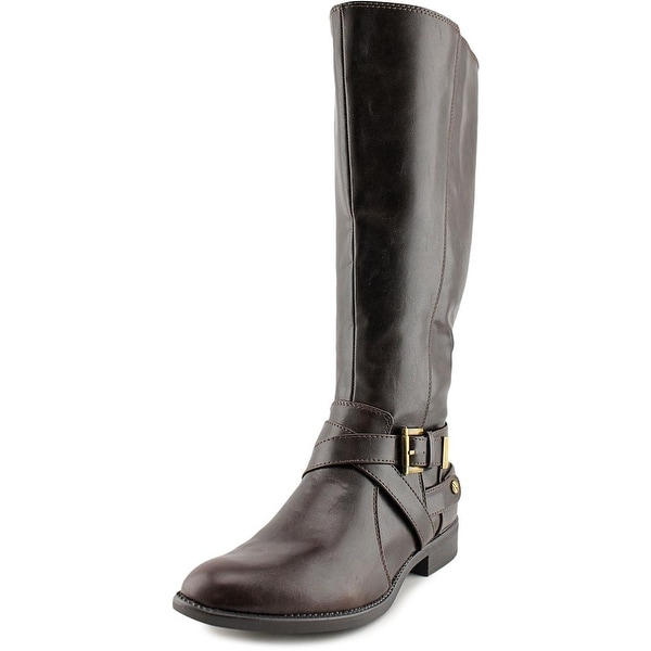 Life Stride Racey Wide Calf Women W Round Toe Synthetic Knee High Boot