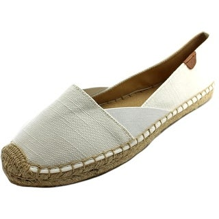 Sperry Top Sider Katama Cape Women Round Toe Canvas White Espadrille
