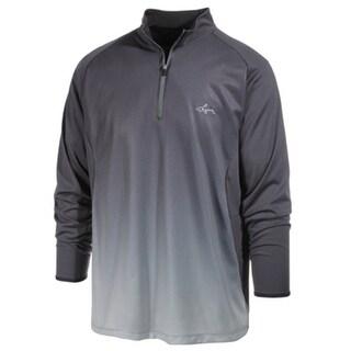 Greg Norman NEW Gray Men Size Medium M Performance Ombre 1/2 Zip Shirt
