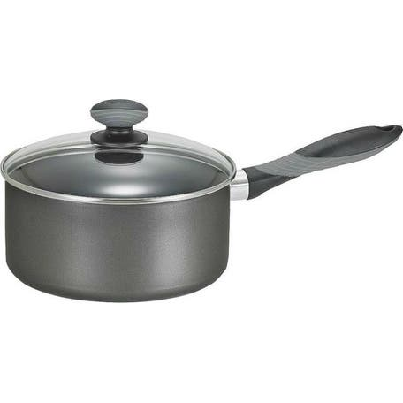 Mirro A7972184 Get A Grip Sauce Pan With Cover, 1 Quart