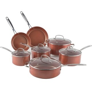 NuWave Duralon Ceramic Nonstick 12-Piece Cookware Set