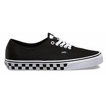 Vans Mens Checker Tape Authentic Sneaker (13 M US Men, Black/White) - Black/White - 13 d(m) us