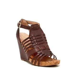 BCBGeneration Womens Blayne Open Toe Formal Ankle Strap Sandals