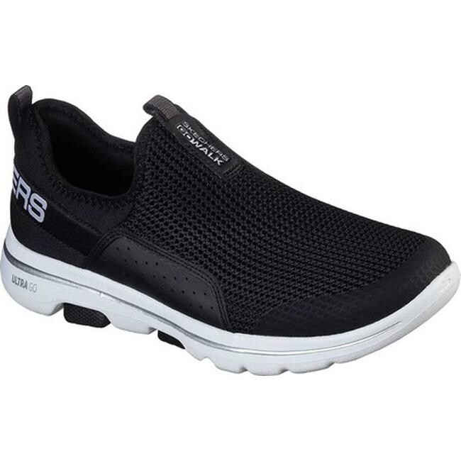 Skechers Women's GOwalk 5 Sovereign Slip On BlackWhite
