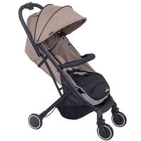 Lightweight Foldable Baby Kids Travel Stroller Pushchair Buggy Newborn Infant - Tan