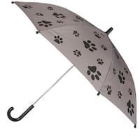 CTM® Kid's Paw Print Stick Umbrella - One size