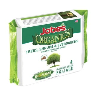 Jobe's 01210 Organics Fertilizer Spikes, 8 Spikes