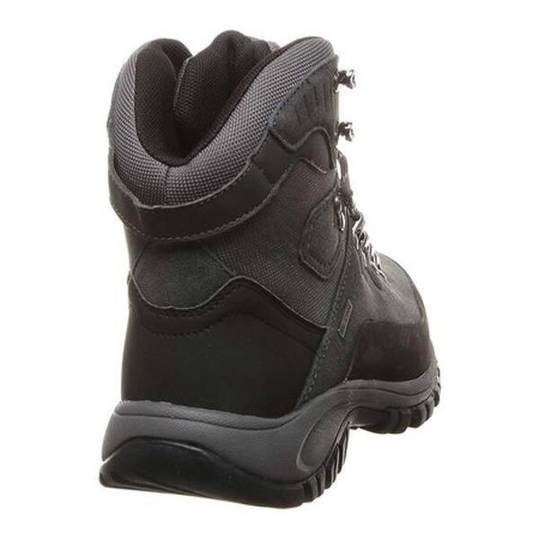 26d3e32b248 Shop Bearpaw Men's Traverse Solids Waterproof Hiking Boot Charcoal ...