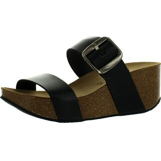 Eric Michael Womens Izzy Double Strap Fashion Sandals