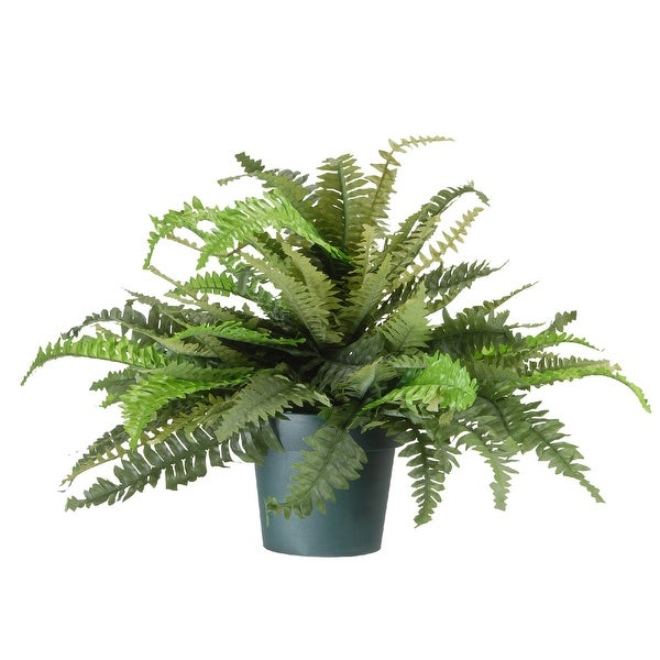 """20"""" Potted Fern Artificial Plant - N/A"""