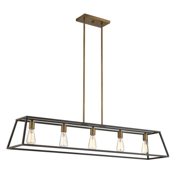 Hinkley lighting 3335 5 light 1 tier linear chandelier from the hinkley lighting 3335 5 light 1 tier linear chandelier from the fulton collection aloadofball Choice Image