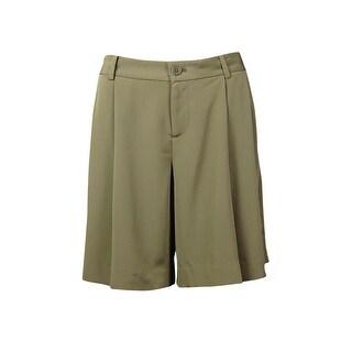 Lauren Ralph Lauren Women's Pleated Polysatin Shorts (2 options available)