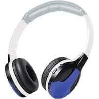 Xo Vision Ir630B Ir Wireless Foldable Headphones (Blue)