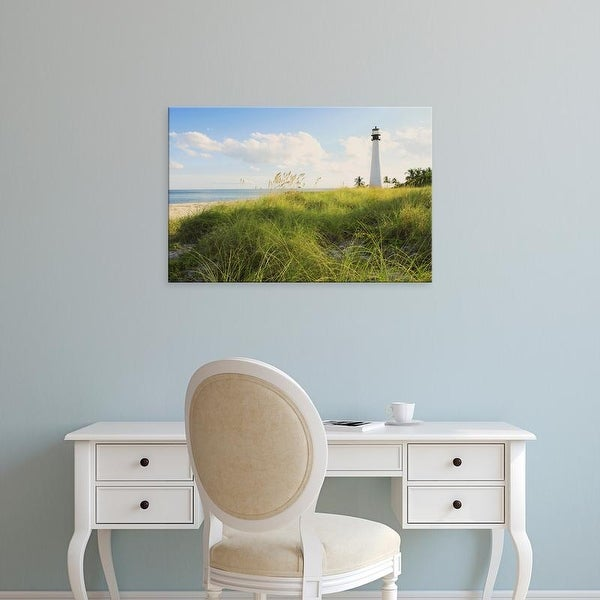 Easy Art Prints Maresa Pryor's 'Bill Baggs Cape Florida Lighthouse' Premium Canvas Art