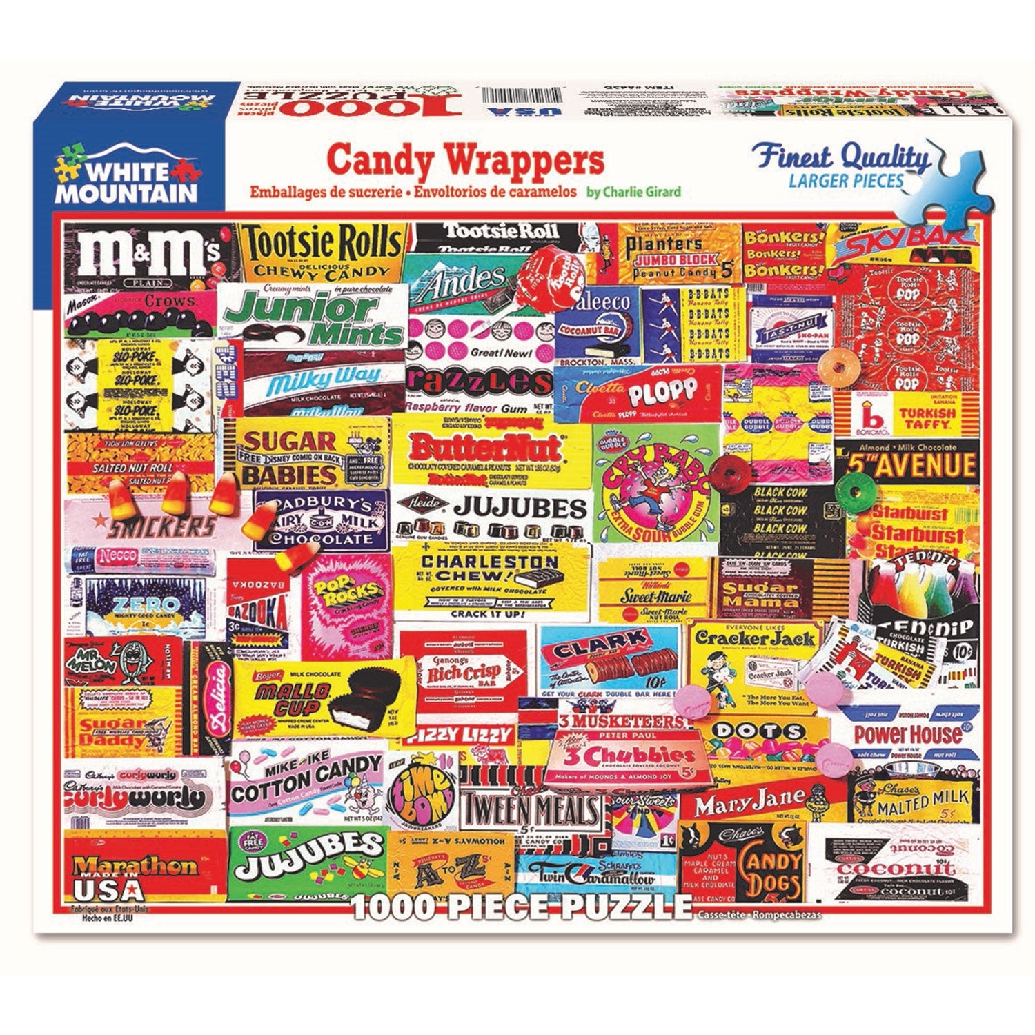 White Mountain Puzzles Snack Bar 1000 Piece Puzzle