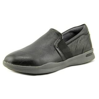 Softwalk Vantage Women Round Toe Leather Black Loafer