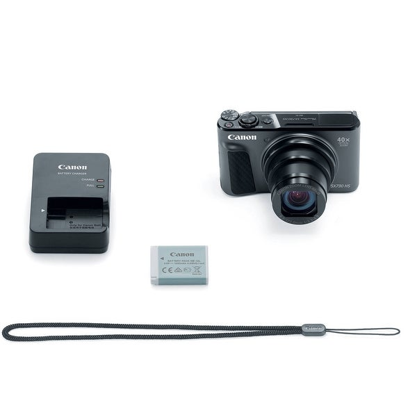 Canon PowerShot SX730 HS Digital Camera (Black) (International Model)